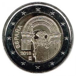 España 2018 2 Euros Santiago de Compostela S/C