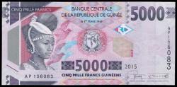 Guinea 5.000 Francos PK 49 (2.015) S/C