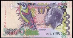 Santo Tomé y Príncipe 5.000 Dobras Pk 65d (31-12-2.013) S/C