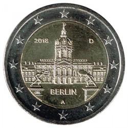 Alemania 2018 2 Euros cualquier ceca Palacio de Charlottenburg, Belín