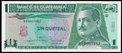 Guatemala 1 Quetzal PK 73c (22-1-1.992) S/C