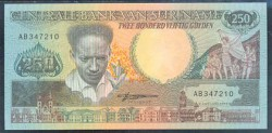 Surinam 250 Gulden PK 134 (9-1-1.988) S/C