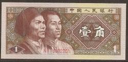 China 1 Jiao PK 881 (1980) S/C
