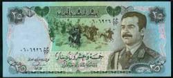 Iraq 25 Dinares PK 73 (1.986) S/C