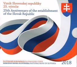 Eslovaquia 2018 Cartera Oficial