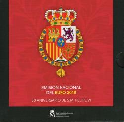 España 2018 Cartera Oficial
