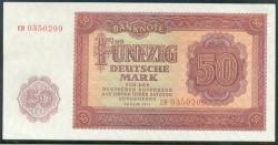 Alemania Democrática 50 Marcos PK 20 (1.955) S/C-