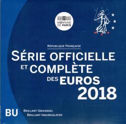 Francia 2018 Cartera Oficial S/C