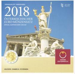 Austria 2018 Cartera Oficial S/C