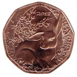 Austria 2018 5 Euros. Conejo de Pascua S/C