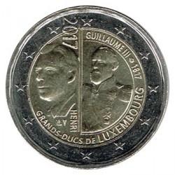 Luxemburgo 2017 2 Euros. 200 Aniv. del nacimiento del G. Duque Guillermo III S/C