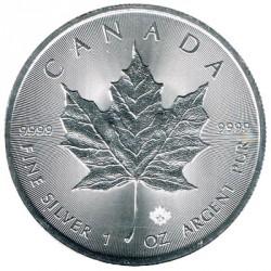 Canadá 5 Dólares Plata 2018 S/C