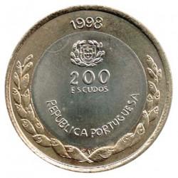 Portugal 1998 200 Escudos Bimetálica (Expo 98) S/C-