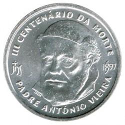 Portugal 500 escudos de plata 1997 Padre Antonio Vieira S/C