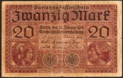 Alemania 20 Marcos PK 57 (20-2-1.918) MBC-