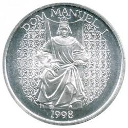 Portugal 1.000 Escudos de Plata 1998 Don Manuel I S/C