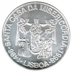 Portugal 1.000 Escudos de Plata 1998 Sta. Casa de Misericordia S/C