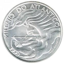 Portugal 1.000 Escudos de Plata 1999 Milenio del Atlántico S/C