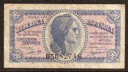 50 cts 1937 República MBC