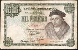 1000 Pesetas 1946 Luis Vives MBC+