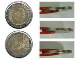 España 2001 2 Euros Canto de Corona EBC