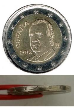 España 2012 2 Euros Canto de Corona EBC-