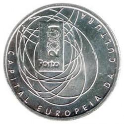 Portugal 500 Escudos de Plata Capital Europea de la Cultura 2001 S/C