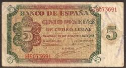 5 Ptas 1938 Burgos MBC-