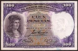 100 Pesetas 1931 Gonzalo. Fdez. de Córdoba EBC