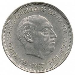 25 Ptas 1957 * 58 EBC-