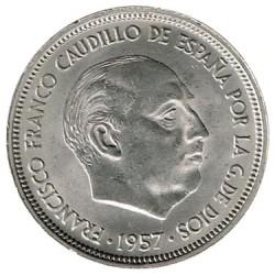 50 Ptas 1957 * 60 S/C
