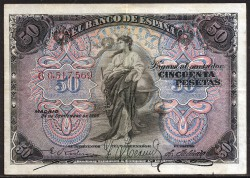 50 Ptas 1906 MBC+
