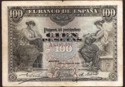 100 Pesetas 1906 MBC
