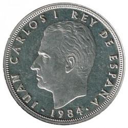 50 Pesetas 1984 KM 825 aUNC