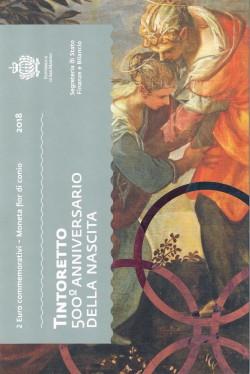 San Marino 2018 2 Euros Tintoretto S/C