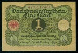 Alemania 1 Marco PK 58 (1-3-1.920) S/C
