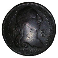 8 Maravedís 1788 Segovia Carlos III MBC+