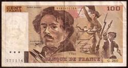 Francia 100 Francos PK 154h (1.994) MBC-