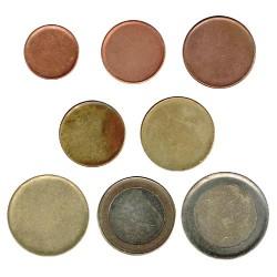 Tira cospeles 8 valores euro (1 cent. - 2€) MBC