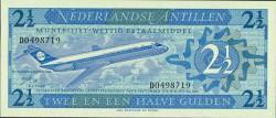 Antillas Holandesas 2´5 Gulden PK 21a (1970) S/C