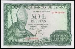 1000 Pesetas 1965 San Isidoro EBC-