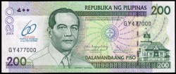 Filipinas 200 Piso PK 203 (2.009) S/C