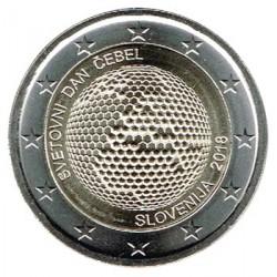 Eslovenia 2018 2 Euros Día Mundial de las Abejas S/C