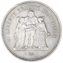 Francia 50 Francos de Plata 1974 MBC+