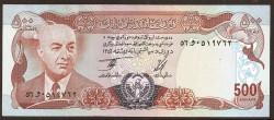 Afganistán 500 Afghanis PK 52 (1.977) S/C