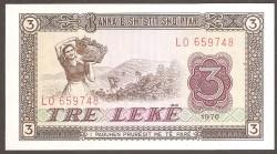 Albania 3 Lek PK 41 (1.976) S/C