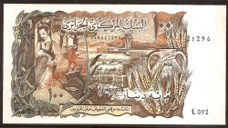 Argelia 100 Dinares PK 128b (1.970) S/C-