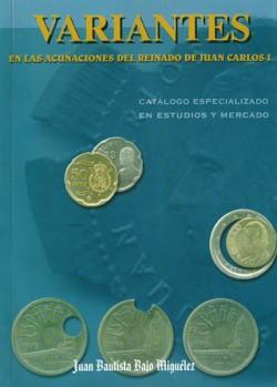 Variantes en las acuñaciones de Juan Carlos I