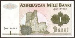 Azerbaiyán 1 Manat PK 11 (1.992) S/C