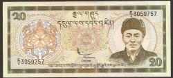 Bután 20 Ngultrum PK 23 (2.000) S/C
